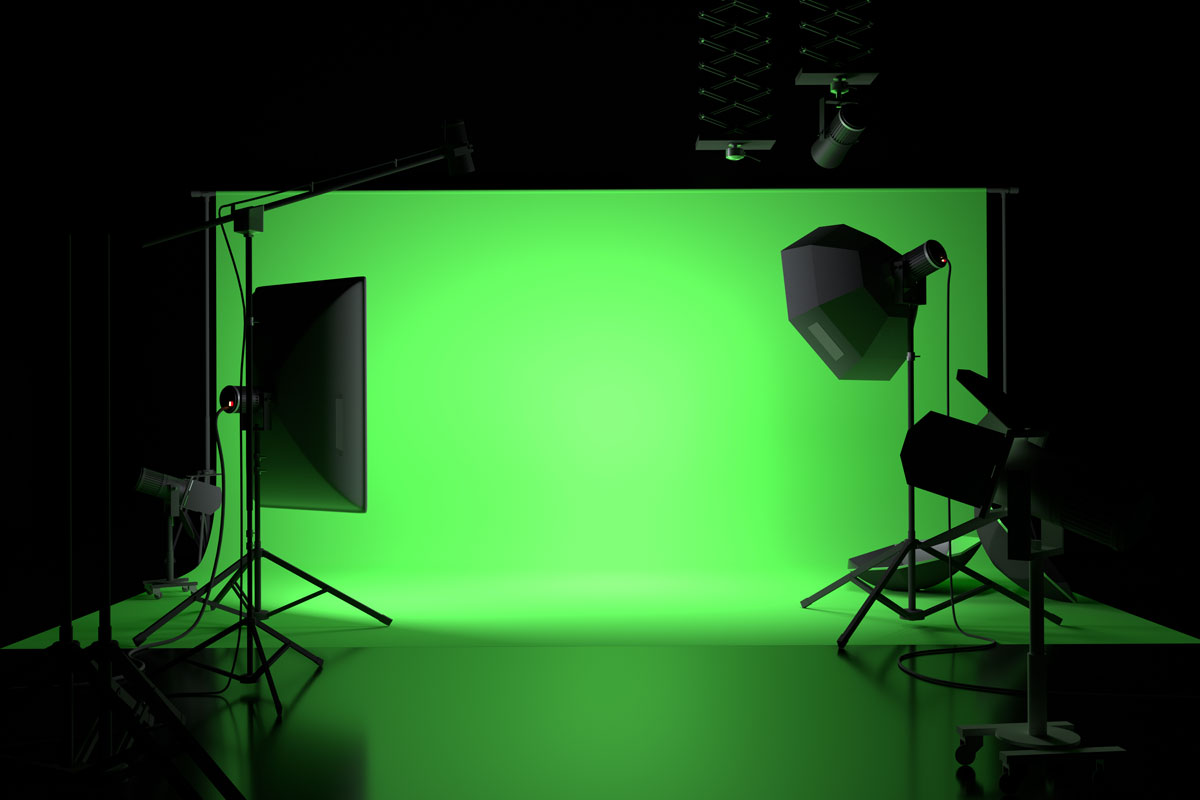 UK Fixer Green Screen for Virtual Shoot in UK